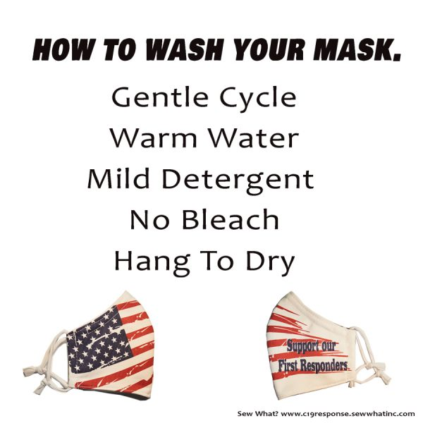 How to wash your mask