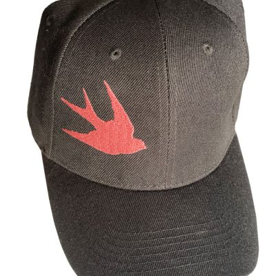 Pacific Swallow Takes Flight, Ear-Saver Hat